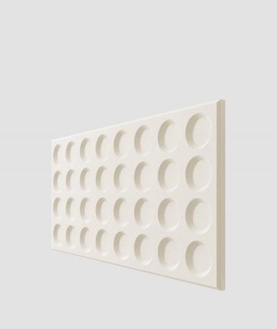 PB28 (B0 white) Grid- 3D architectural concrete decor panel