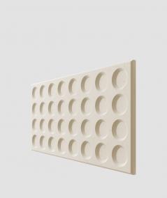 VT - PB28 (KS ivory) Grid- 3D architectural concrete decor panel