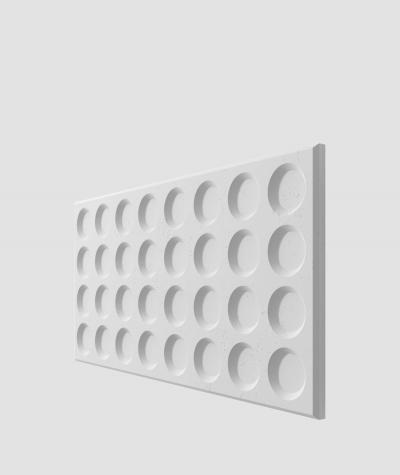 VT - PB28 (S50 jasny szary 'mysi') Grid - panel dekor 3D beton architektoniczny