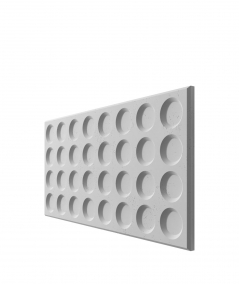 VT - PB28 (S96 ciemny szary) Grid - panel dekor 3D beton architektoniczny