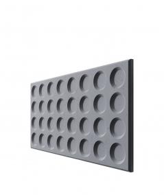VT - PB28 (B8 antracyt) Grid - panel dekor 3D beton architektoniczny