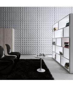 VT - PB28 (B15 czarny) Grid - panel dekor 3D beton architektoniczny