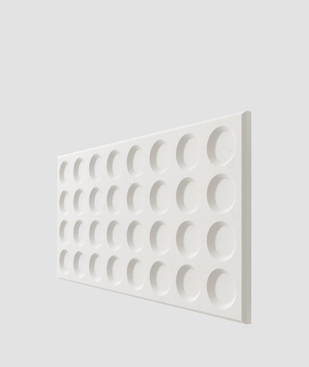 VT - PB28 (BS śnieżno biały) Grid - panel dekor 3D beton architektoniczny