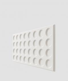 PB28 (BS snow white) Grid- 3D architectural concrete decor panel