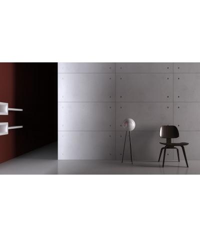 VT - PB30 (B1 siwo biały) Standard - panel dekor 3D beton architektoniczny