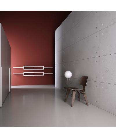 PB30 (S50 light gray 'mouse') Standard- 3D architectural concrete decor panel