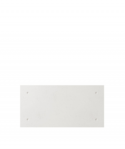 VT - PB30 (BS śnieżno biały) Standard - panel dekor 3D beton architektoniczny