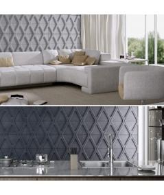 PB31 (B1 gray white) Module V - 3D architectural concrete decor panel
