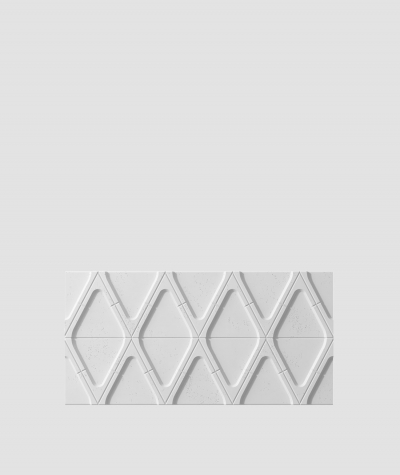 VT - PB31 (S50 jasny szary 'mysi') Moduł V - panel dekor 3D beton architektoniczny