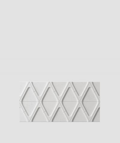 PB31 (S95 light gray 'dove') Module V - 3D architectural concrete decor panel