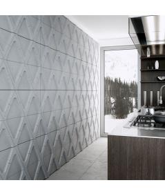 VT - PB31 (S96 dark gray) Module V - 3D architectural concrete decor panel