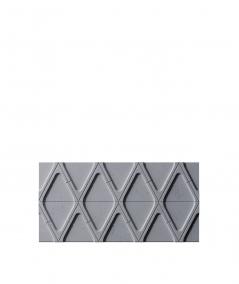 PB31 (B8 anthracite) Module V - 3D architectural concrete decor panel