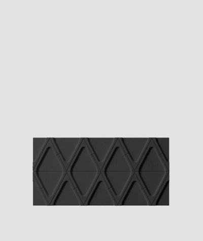 VT - PB31 (B15 czarny) Moduł V - panel dekor 3D beton architektoniczny