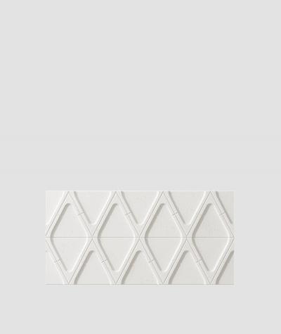 PB31 (BS snow white) Module V - 3D architectural concrete decor panel