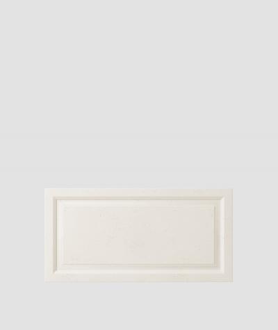 VT - PB33a (B0 biały) Rama - panel dekor 3D beton architektoniczny