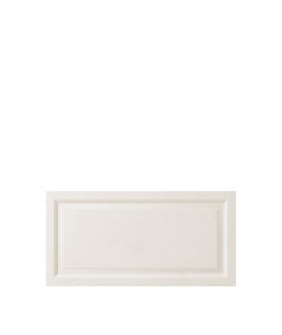 VT - PB33a (B0 white) Frame - 3D architectural concrete decor panel