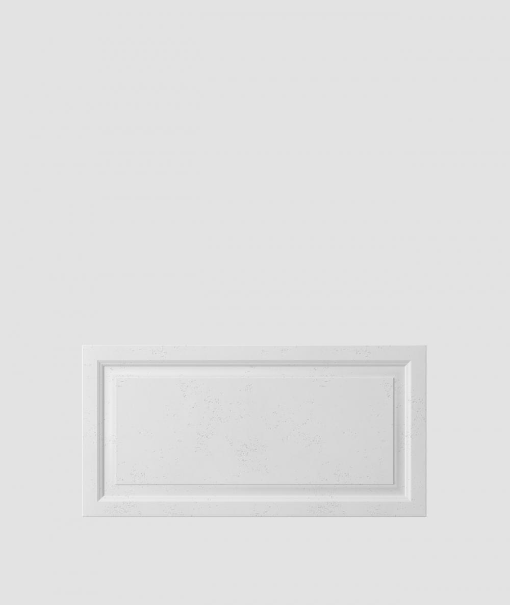 VT - PB33a (B1 siwo biały) Rama - panel dekor 3D beton architektoniczny
