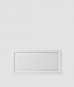 PB33a (B1 gray white) Frame - 3D architectural concrete decor panel