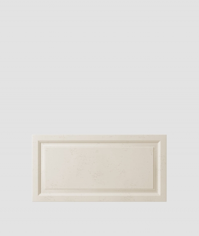 PB33a (KS ivory) Frame - 3D architectural concrete decor panel
