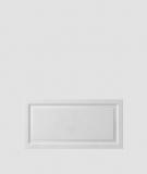 VT - PB33a (S50 jasny szary - mysi) Rama - panel dekor 3D beton architektoniczny