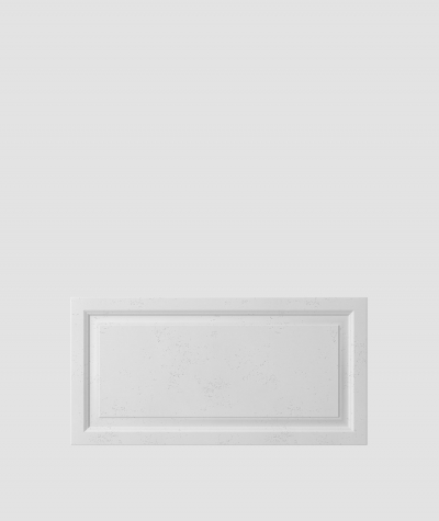 PB33a (S50 light gray 'mouse') Frame - 3D architectural concrete decor panel