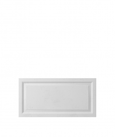 VT - PB33a (S50 light gray - mouse) Frame - 3D architectural concrete decor panel