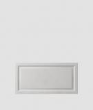 VT - PB33a (S51 ciemny szary - mysi) Rama - panel dekor 3D beton architektoniczny