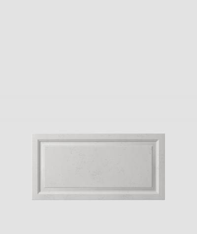 VT - PB33a (S51 ciemny szary 'mysi') Rama - panel dekor 3D beton architektoniczny