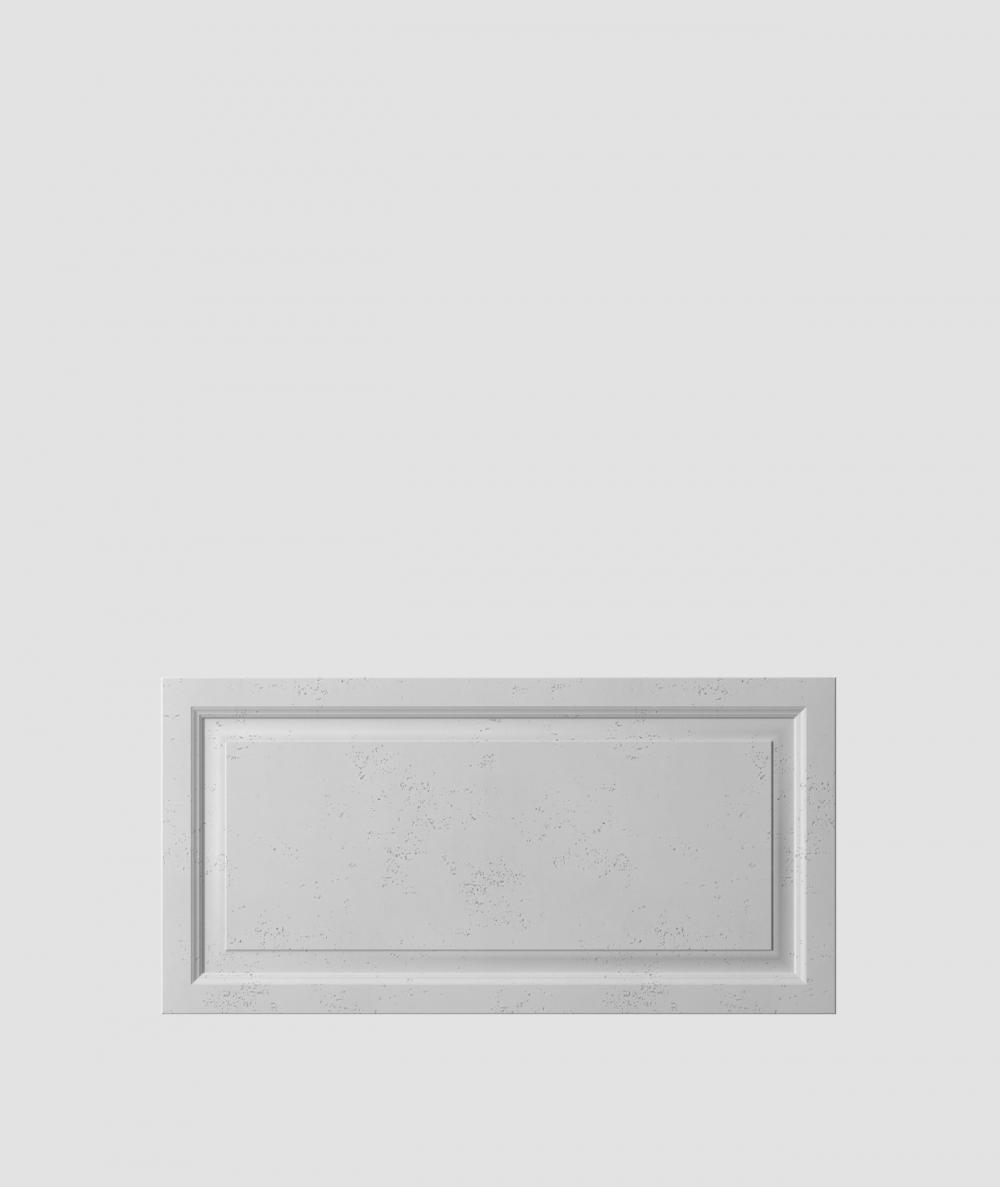 VT - PB33a (S96 dark gray) Frame - 3D architectural concrete decor panel