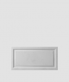 VT - PB33a (S96 ciemny szary) Rama - panel dekor 3D beton architektoniczny