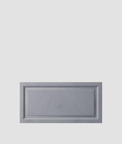 PB33a (B8 anthracite) Frame - 3D architectural concrete decor panel