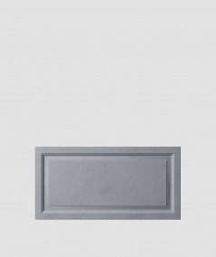 VT - PB33a (B8 anthracite) Frame - 3D architectural concrete decor panel