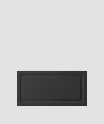 PB33a (B15 black) Frame - 3D architectural concrete decor panel