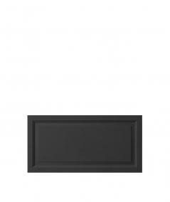 VT - PB33a (B15 czarny) Rama - panel dekor 3D beton architektoniczny