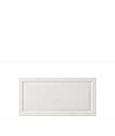 VT - PB33a (BS śnieżno biały) Rama - panel dekor 3D beton architektoniczny