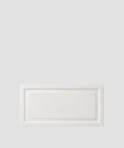 PB33a (BS snow white) Frame - 3D architectural concrete decor panel