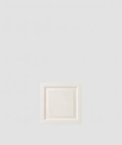 PB33b (B0 white) Frame - 3D architectural concrete decor panel