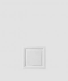 VT - PB33b (B1 siwo biały) Rama - panel dekor 3D beton architektoniczny