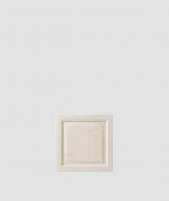PB33b (KS ivory) Frame - 3D architectural concrete decor panel