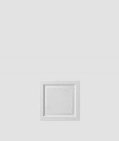 PB33b (S50 light gray 'mouse') Frame - 3D architectural concrete decor panel
