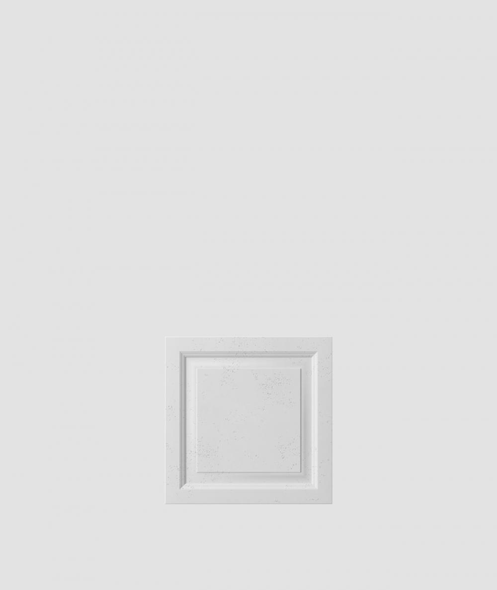 VT - PB33b (S50 jasny szary 'mysi') Rama - panel dekor 3D beton architektoniczny