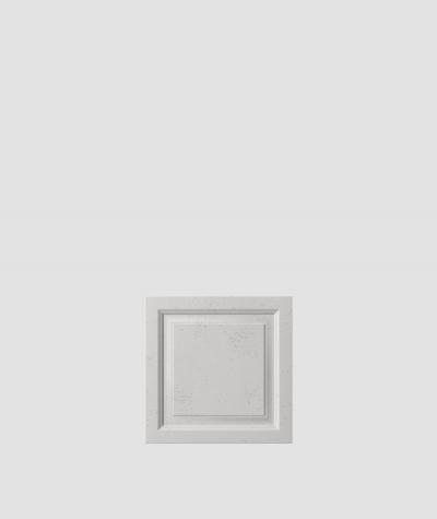VT - PB33b (S51 dark gray - mouse) Frame - 3D architectural concrete decor panel
