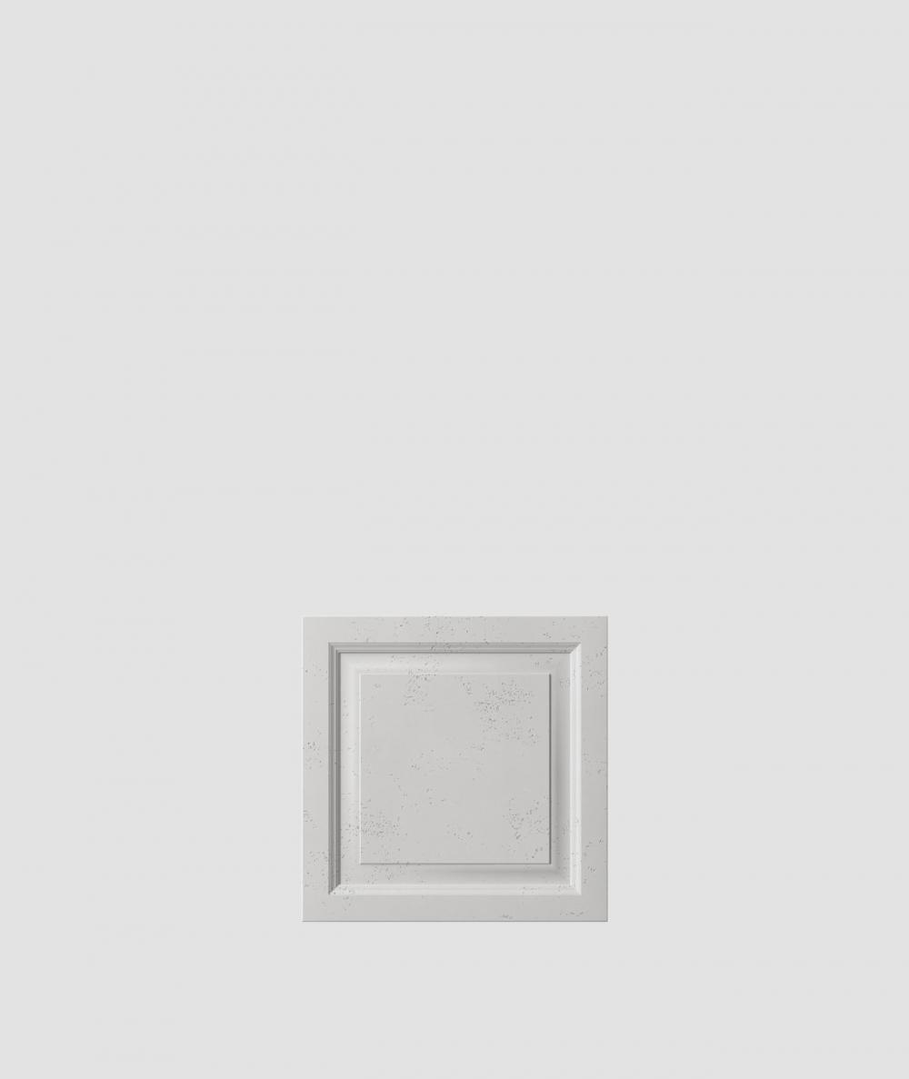 PB33b (S51 dark gray 'mouse') Frame - 3D architectural concrete decor panel