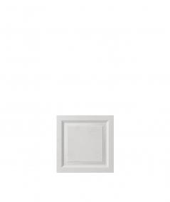 VT - PB33b (S95 jasny szary 'gołąbkowy') Rama - panel dekor 3D beton architektoniczny