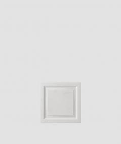 PB33b (S95 light gray 'dove') Frame - 3D architectural concrete decor panel