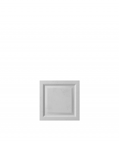 PB33b (S96 dark gray) Frame - 3D architectural concrete decor panel