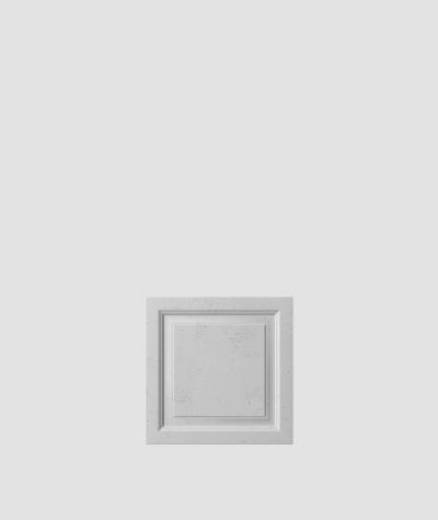VT - PB33b  (S96 ciemny szary) Rama - panel dekor 3D beton architektoniczny