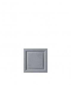 VT - PB33b  (B8 antracyt) Rama - panel dekor 3D beton architektoniczny