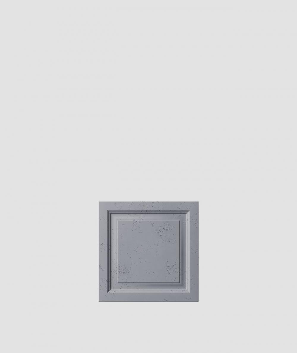 VT - PB33b (B8 anthracite) Frame - 3D architectural concrete decor panel