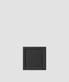 VT - PB33b (B15 black) Frame - 3D architectural concrete decor panel